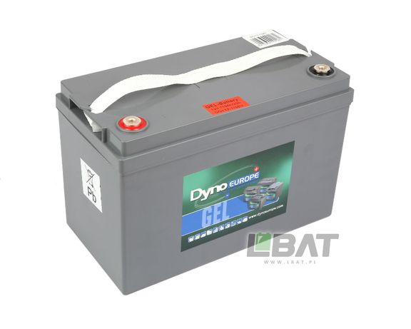 Bateria żelowa trakcyjna 12V 110Ah DGY12-110EV, Akumulator Żelowy DYNO