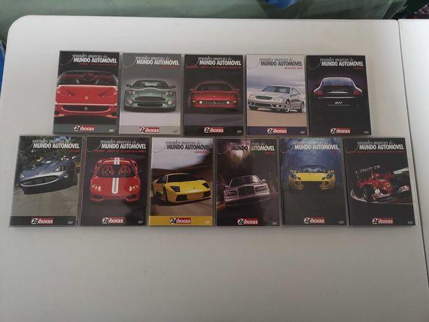 Coleção As Grandes Marcas do Mundo Automóvel em DVD