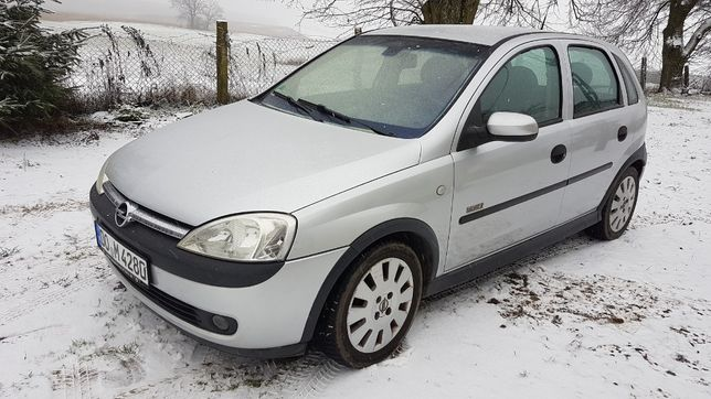 Opel Corsa Elegance 1,2 benzyna 4 cylindry Climatronic, Alu