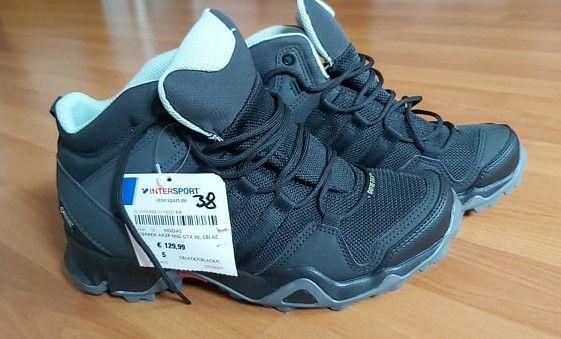 Wysokie buty trekkingowe adidas, damskie, Adidas Terrex Ax2R Mid Gtx W