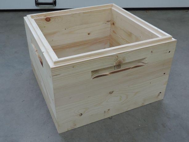 Korpus wielkopolski drewniany, jednościenny, wręgowy