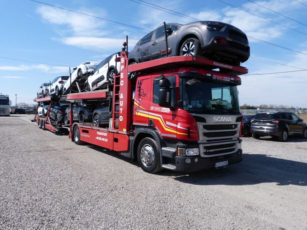 Scania P450 Autotransporter Kassboher stan idealny  full opcja krajowy