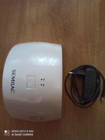 Semilac lampa UV LED 24W NOWA + gratis