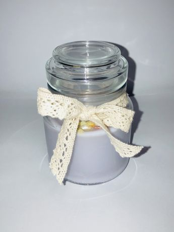 Ręcznie robione świeczki sojowe