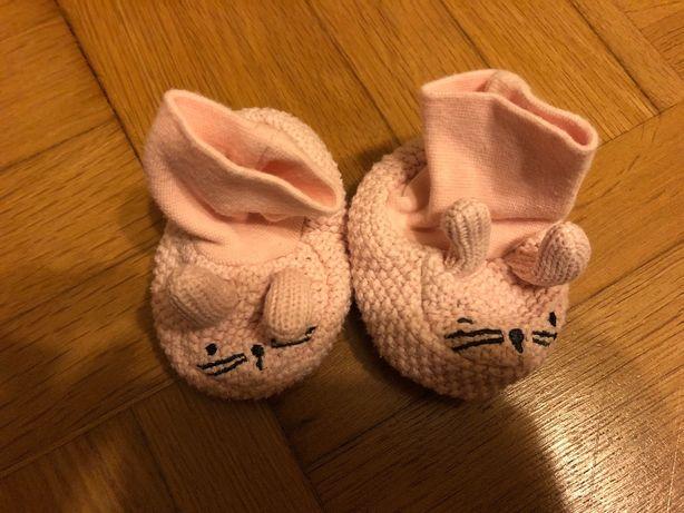 Buciki buty niechodki newborn hm
