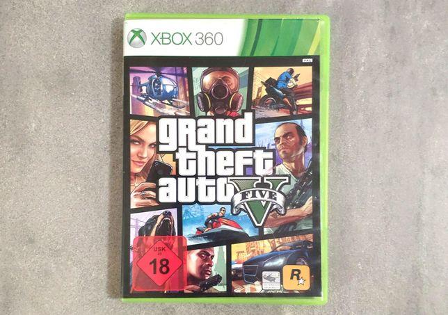GTA V Grand Theft Auto 5 PL | Xbox 360 [wysyłka 5 zł]