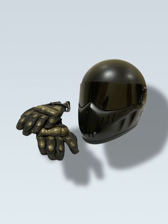 Rękawice Shock na motor M/L kevlar prtection