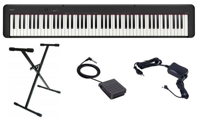 Pianino Casio CDP S100 BK Zestaw Komplet Statyw
