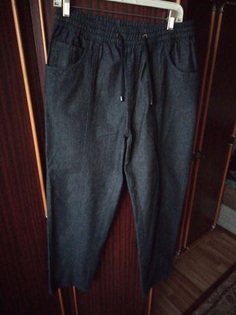 Брюки мужские с поясом на резинке и шнурком-завязкой