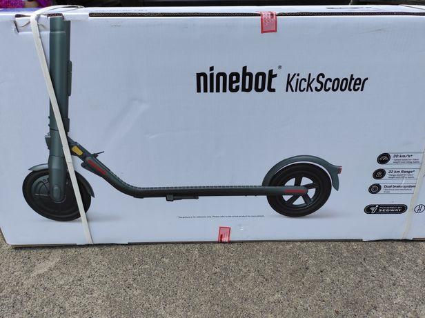 Електросамокат Ninebot Segway E22E Kickscooter лучшая цена, оригинал