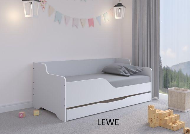 Łóżko dziecięce LILU 160x80 materac+ szuflada SZARA SOFA