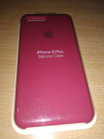Чехол Apple iPhone 8 Plus original silicon case 200 грн.