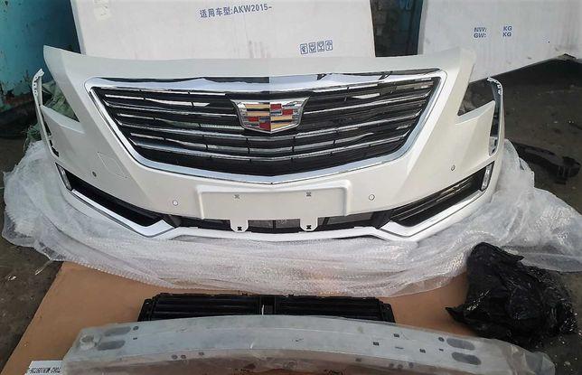 Cadillac ct6 бампер в сборе