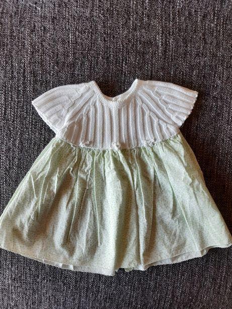 Vestido Wedoble verde - tamanho 0m
