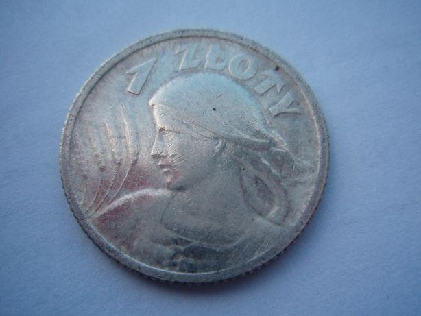 1 złoty 1924, żniwiarka