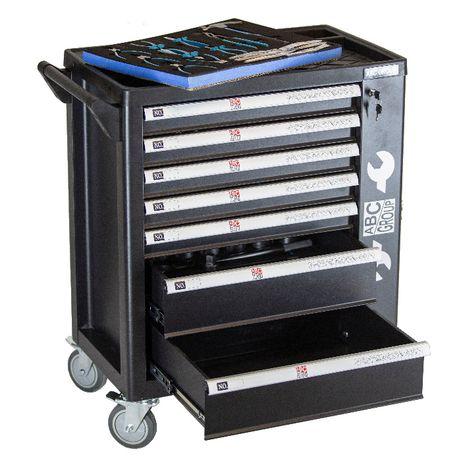 Wózek narzędziowy szafka narzędziowa 7 szuflad 278 szt.