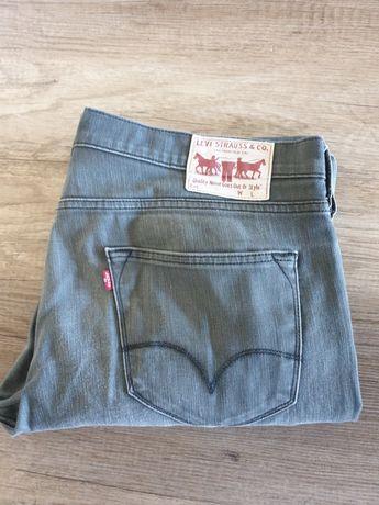 Spodnie Levi's San Francisco szare, jeans XXL