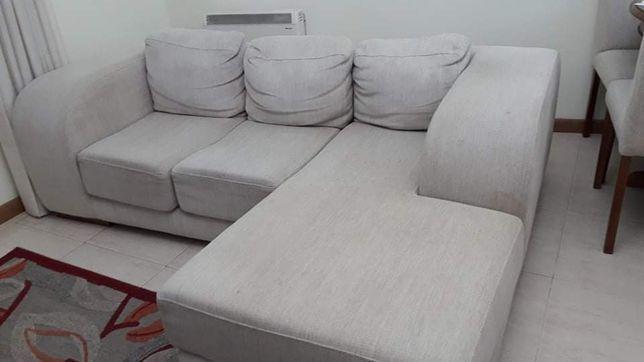 Sofá em tecido - como novo