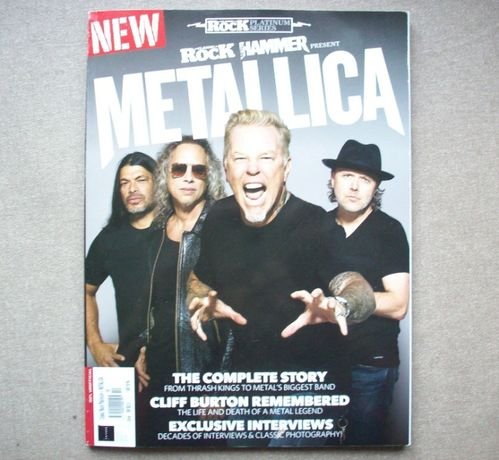 Metallica, The Complete Story, Classic Rock, 2019, w jęz. ang.