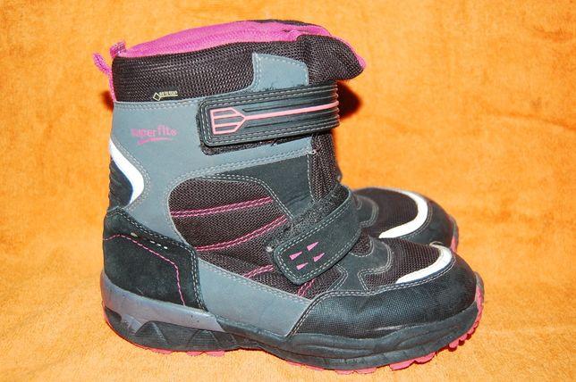 Зимние ботинки Super fit 34 размер для девочки