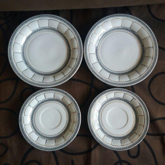 CHODZIEŻ 4 talerzyki porcelanowe BERNI cena za komplet Koszalin - image 1