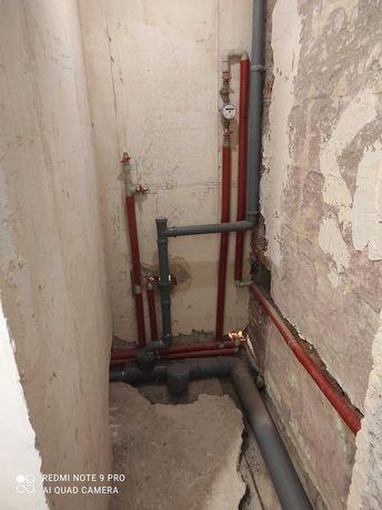 Сантехнік, сантехнічні роботи та монтаж опалення, каналізації