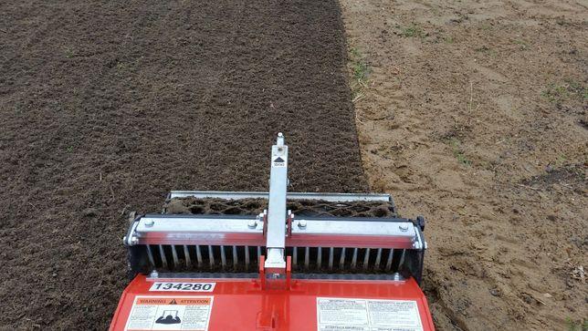 NOWY TRAWNIK glebogryzarka separacyjna ŻORY, sianie, mini traktor