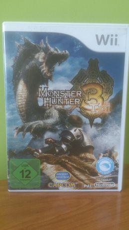 monster hunter 3tri na nintendo wii