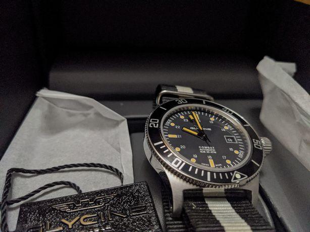 Zegarek szwajcarski Glycine automatyczny Combat Sub 42 GL0083