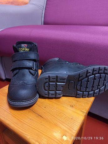 Осенние ботинки для мальчика 31 размер