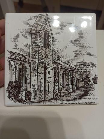 Azulejo do convento de Santa Clara