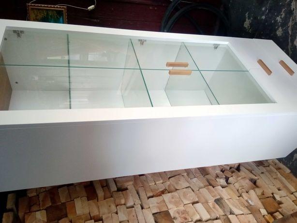 Witryna szklana dekoracyjna