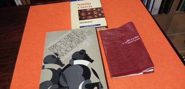 Três livros de Natália Correia