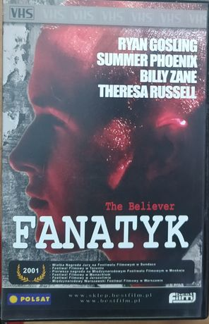 Kaseta VHS!!! FANATYK !!! Ryan Gosling