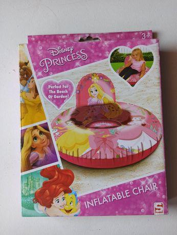 NOWY! ponton do pływania/ krzesełko dmuchane Disney księżniczki