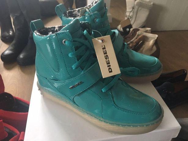 Diesel nowa kolekcja 39 sneakersy najlepsza cena! NEON trampki