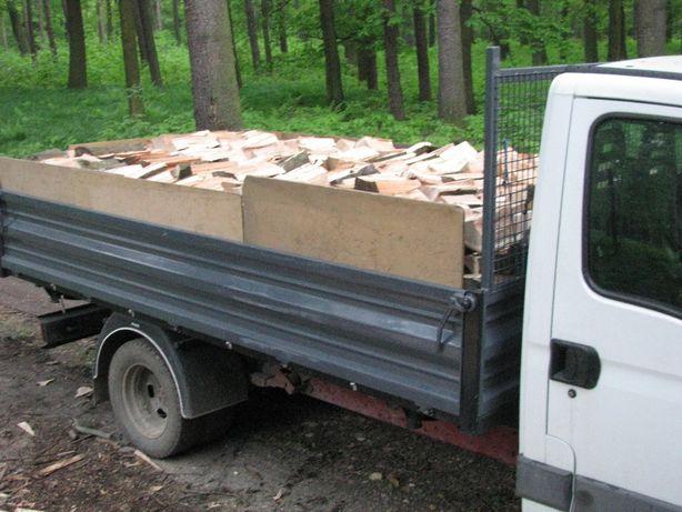 Drewno opałowe - transport