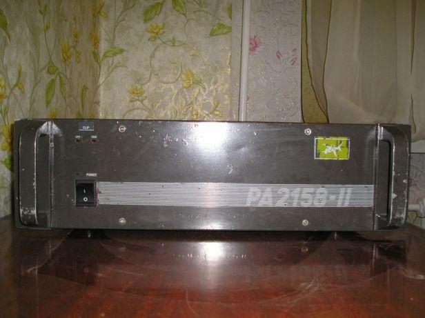 Усилитель мощности Park Audio PA-2158-2 (2*160Вт) (8Ом) (апгрейд)