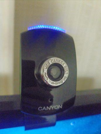 Веб камера Canyon 0.3 Mp CNR-WCAM43G1 рабочая
