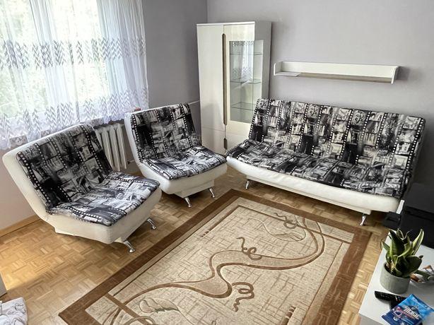 Kanapa + 2 fotele (rogówka, łóżko, wersalka, wypoczynek)