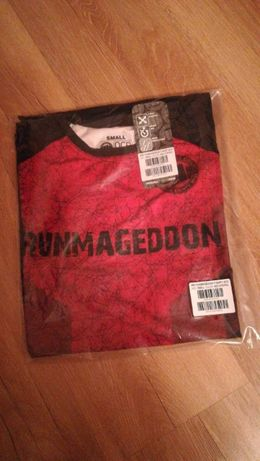 Koszulka Runmageddon Red Stripes Pitbull 2019