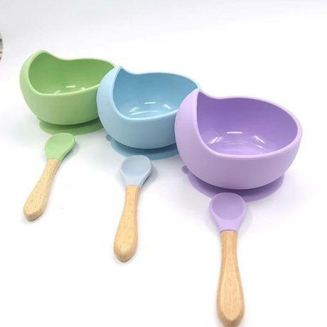 Дитяча силіконова посуда