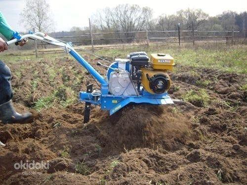 Услуги мотоблока. Вскопать вспахать перекопать огород, участок.