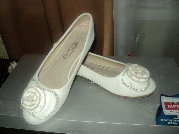 Школьные туфельки для девочки