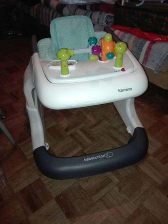 Primeiros passos bebé confort