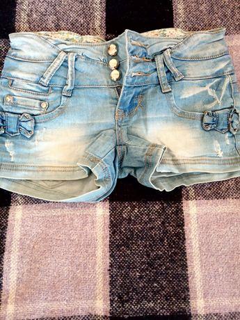 Шорти джинсові 42р
