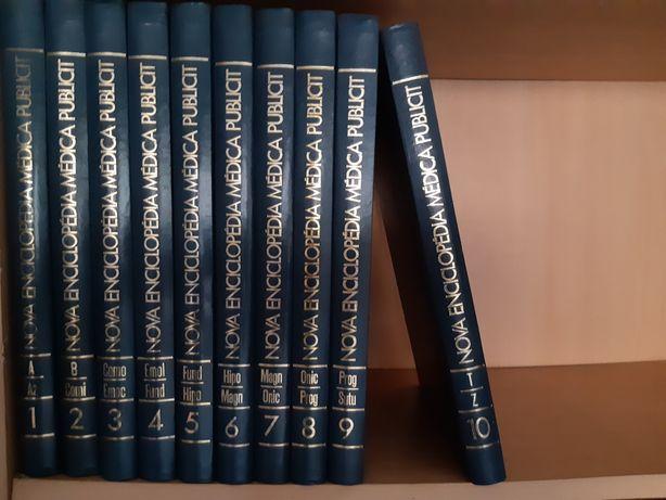 Enciclopédia de medicina -10 volumes