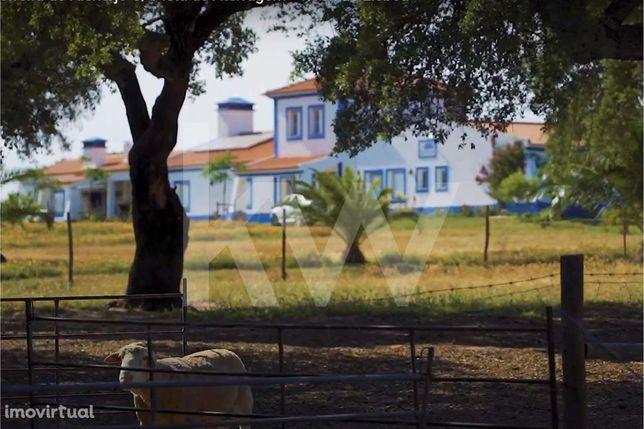 Herdade com 33,5 hectares e Aeródromo Privado Certificado em Ferreira