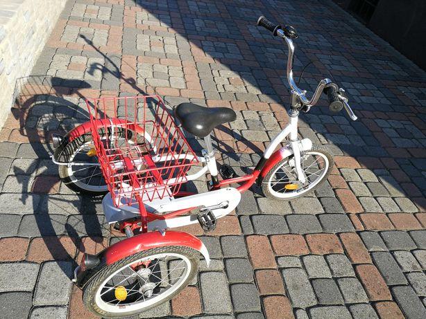 Rower Rowerek trójkołowy rehabilitacyjny dla dzieci