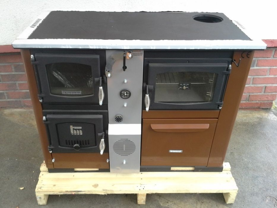 Termomont Temy + P 25 piec kuchenny z funkcją c.o. ruszt wodny wężown. Wałbrzych - image 1